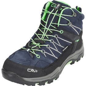 CMP Campagnolo Junior Rigel Mid WP Trekking Shoes Asphalt-Ice Mint